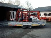 Raupen Arbeitsbühne Hinowa Goldlift 14.70 Transport.JPG