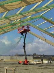 Scheren Arbeitsbühne Upright SL26N Hallenbau 2.jpg