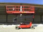 Scheren Arbeitsbühne Upright SL26N Hallenbau 4.JPG